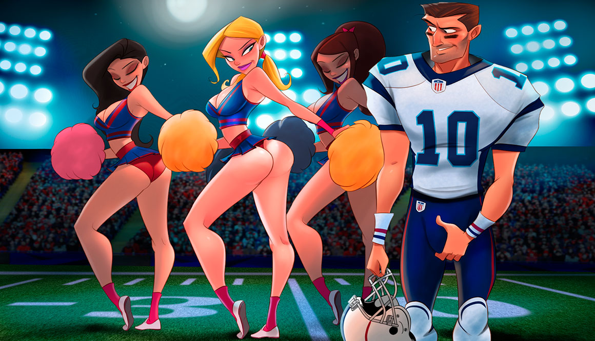 Animated Tales - A very hot game at the Super Bowl