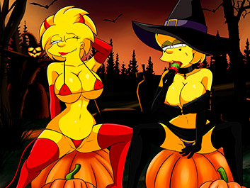 HALLOWEEN NIGHT - The Simptoons