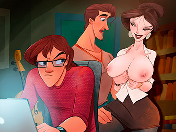 My mom prefers young guys - Animated Tales