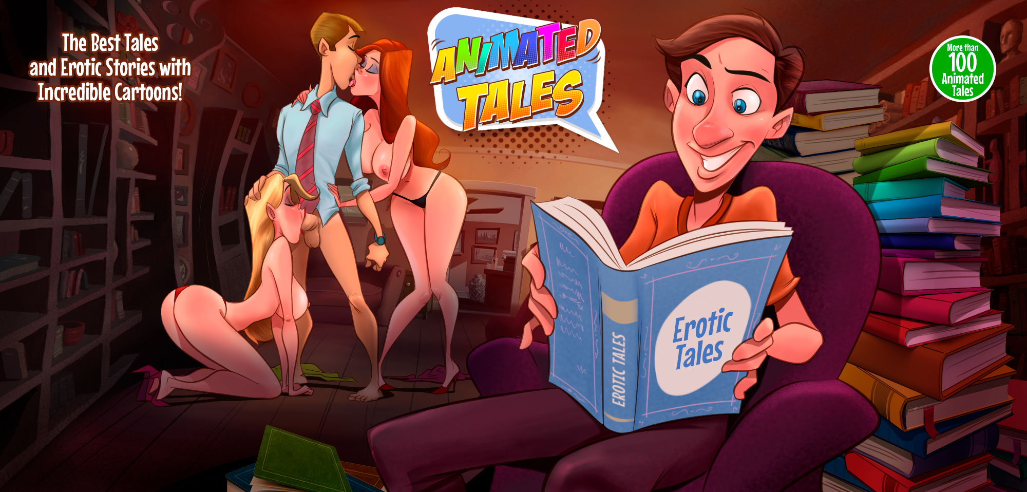 Animated Tales - header