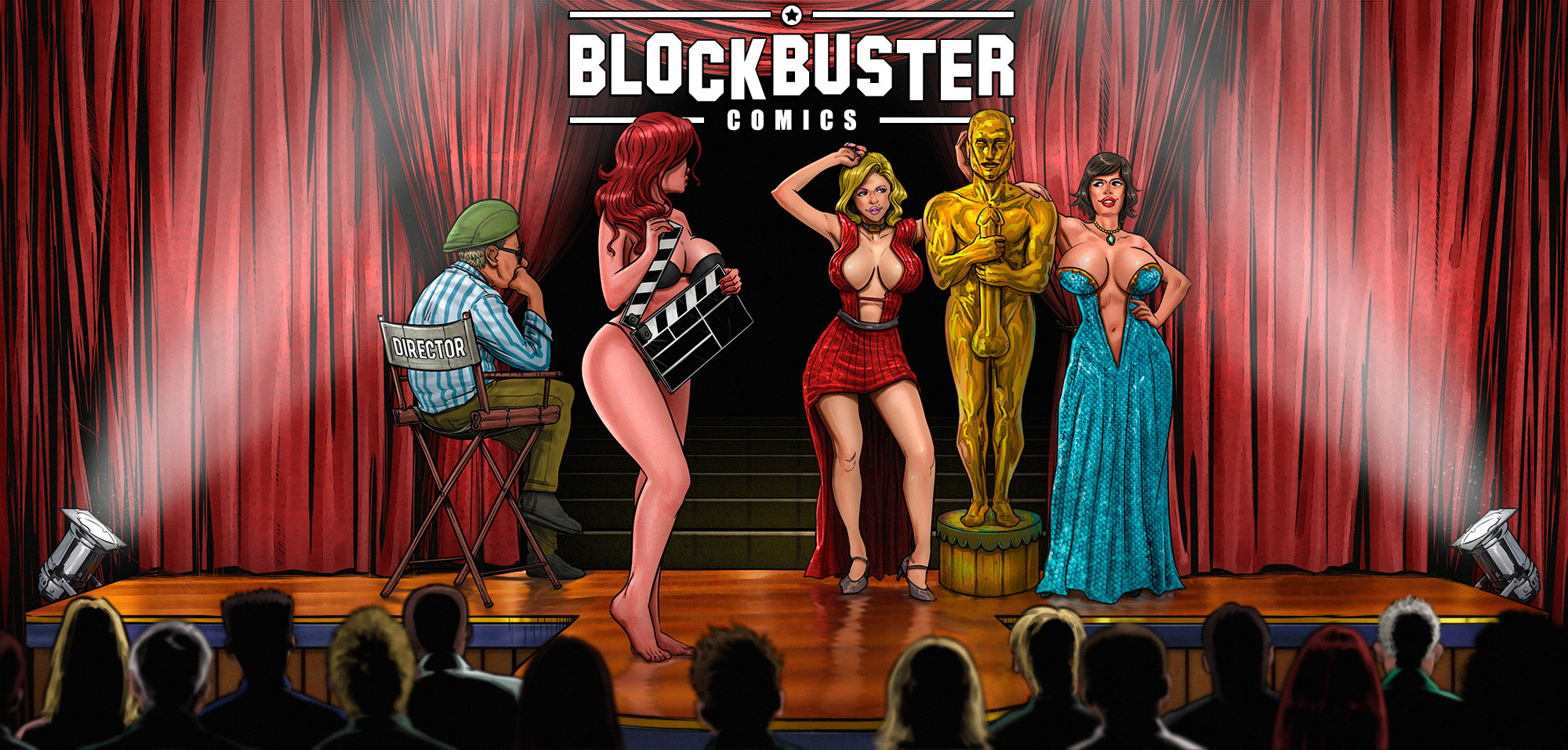 Blockbuster Comics - header