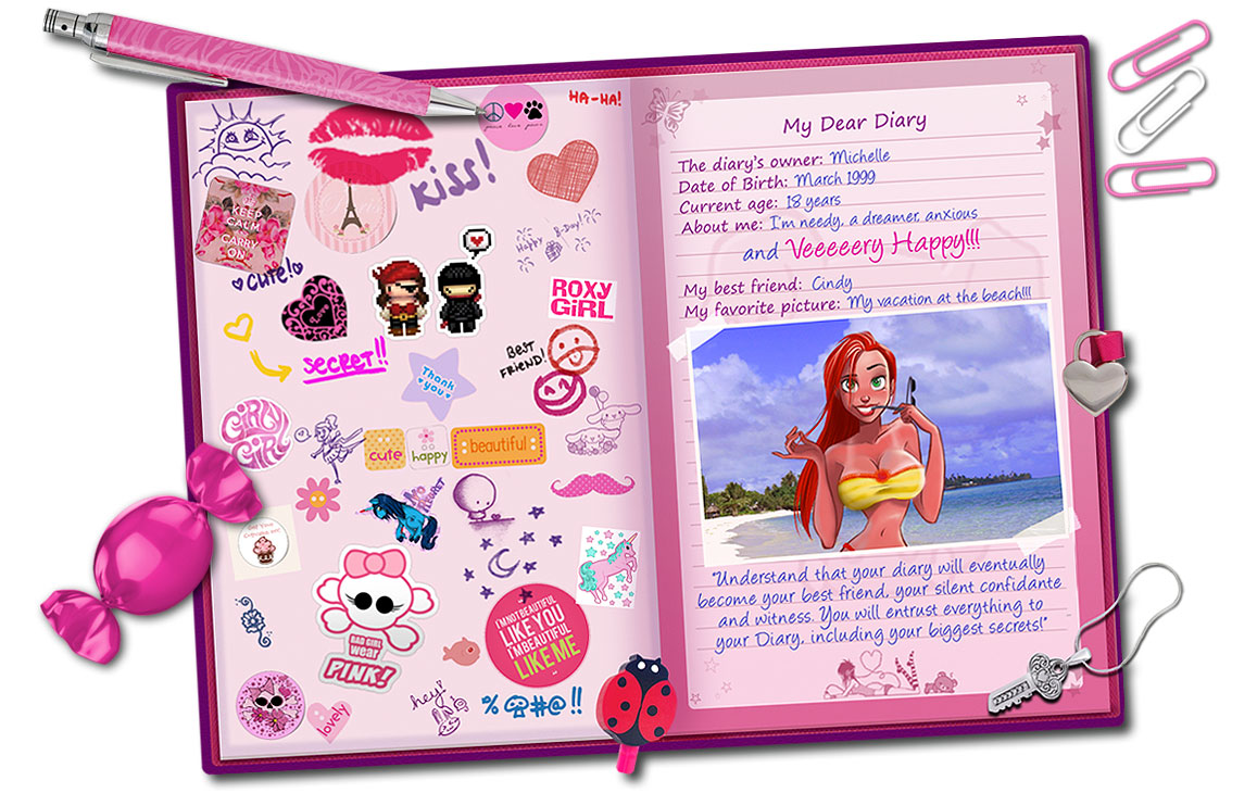 MICHELLE'S DIARY - header info