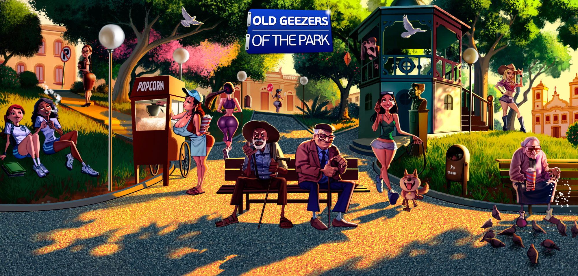 Old Geezers of the Park - header