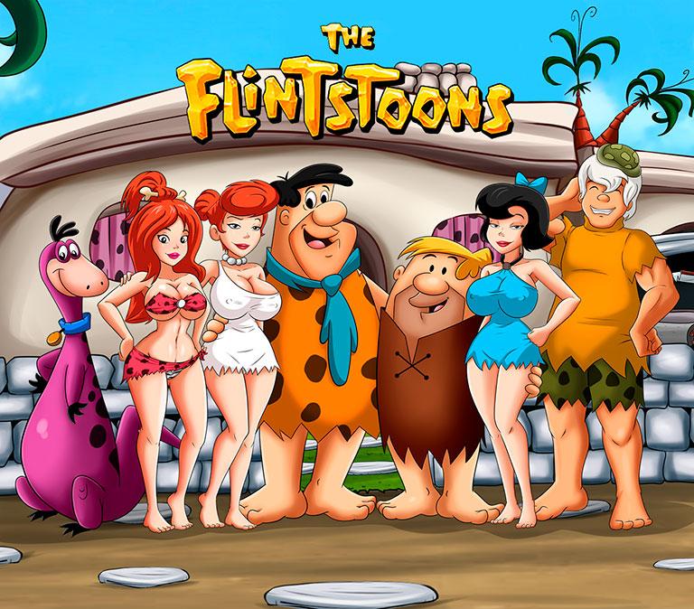 The Flintstoons - header mobile