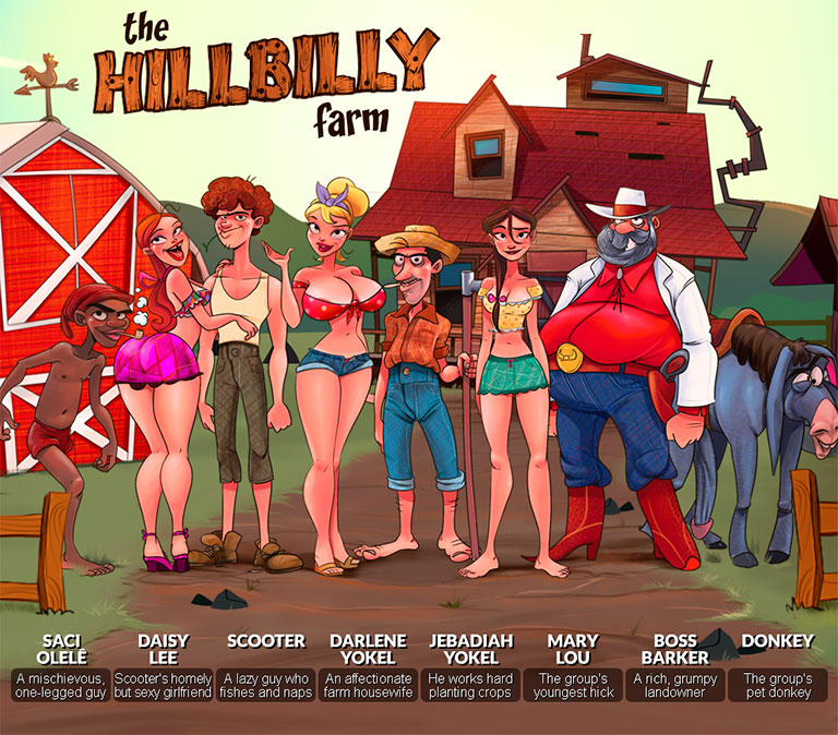 The Hillbilly Farm - header mobile