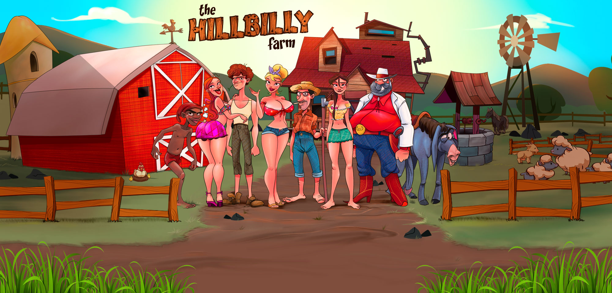 The Hillbilly Farm - header