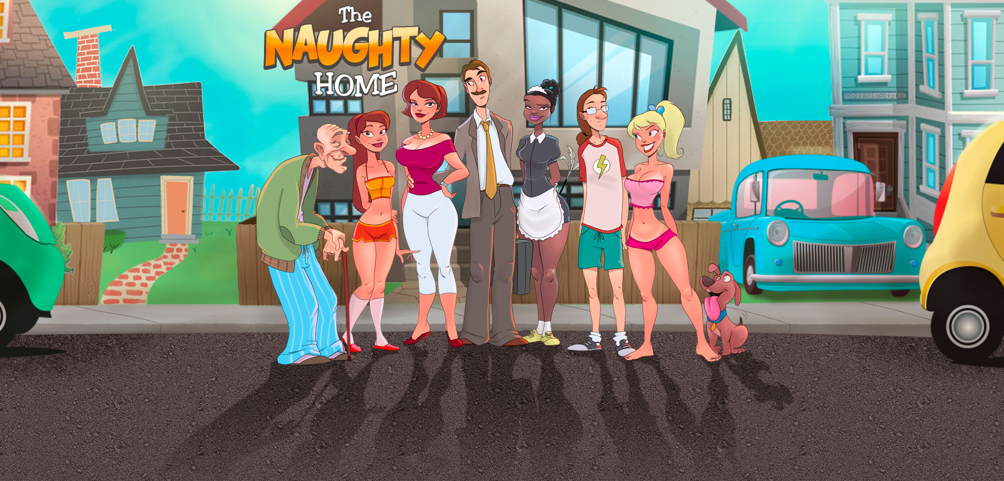 The Naughty Home - header