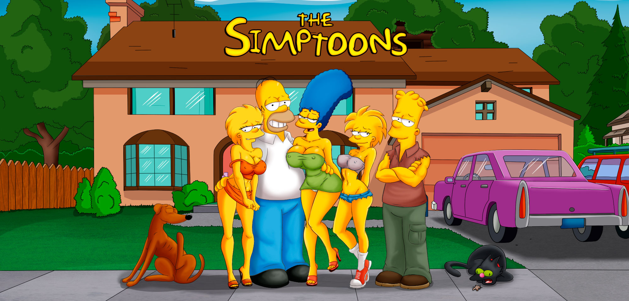 The Simptoons - header