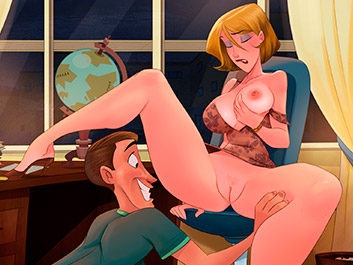 Animated Tales - Caught fucking the teacher at school