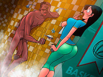 Interviewing an NBA star - Animated Tales