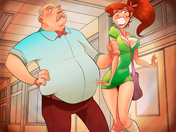 Animated Tales - My high school principal punished me