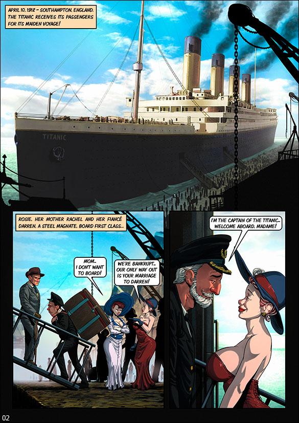 Blockbuster Comics - Titanic - page 2