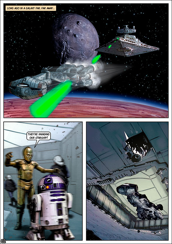 Blockbuster Comics - Star Wars - page 2
