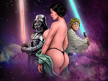 Star Wars - Blockbuster Comics
