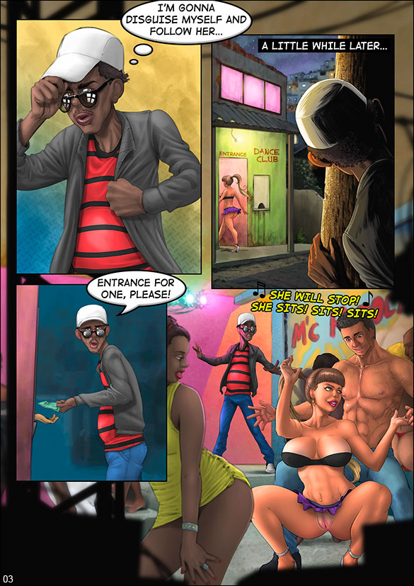 Brazilian Slumdogs - Erotic chair dance - page 3