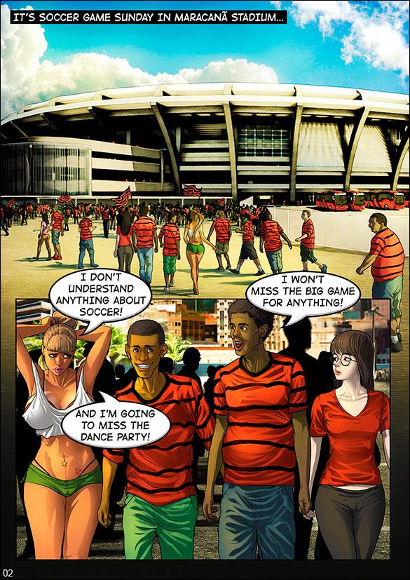 Brazilian Slumdogs - Soccer In Maracanã Stadium - page 2
