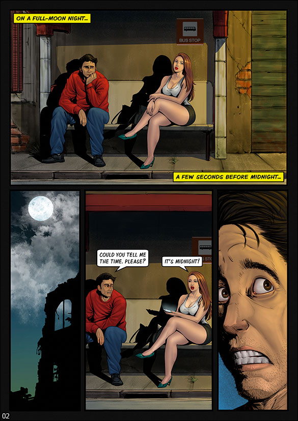 Monster Squad - Werewolf - page 2