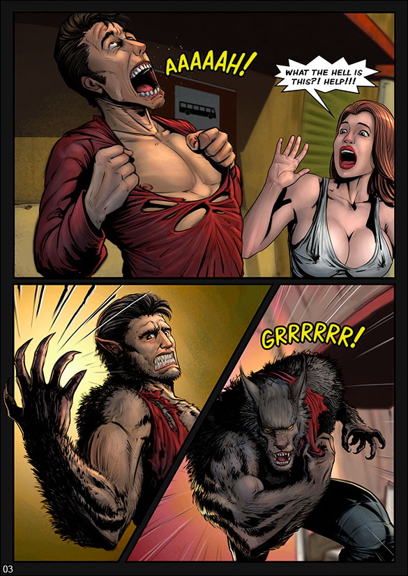 Monster Squad - Werewolf - page 3