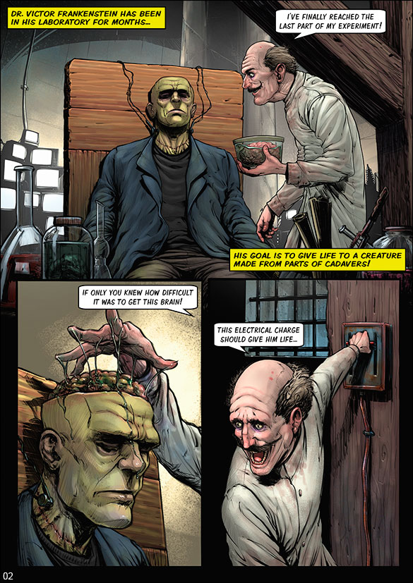 Monster Squad - Frankenstein - page 2