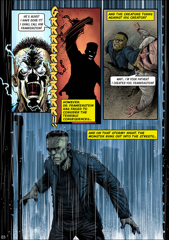 Monster Squad - Frankenstein - page 3