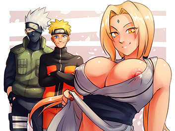The Jutsu Power of Naughty - Narutoon
