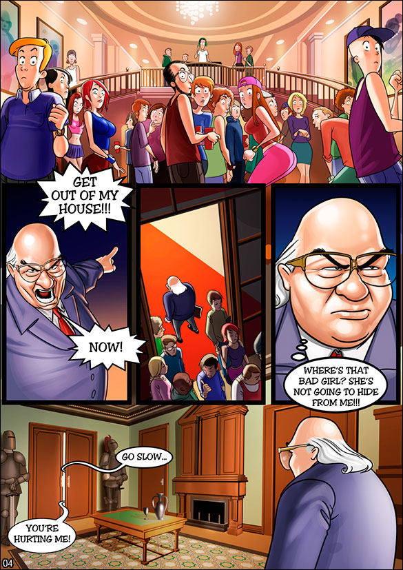 Pleasure Mansion - Raging party at the mansion - page 4