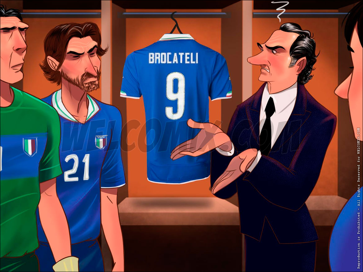 Soccer World Cup Tales - Brocateli's disappearance - page 1