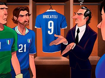 Brocateli's disappearance - Soccer World Cup Tales