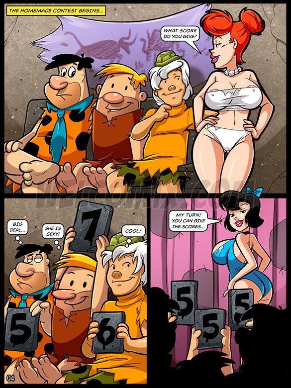 The Flintstoons - Bedrock hot girl contest - page 4
