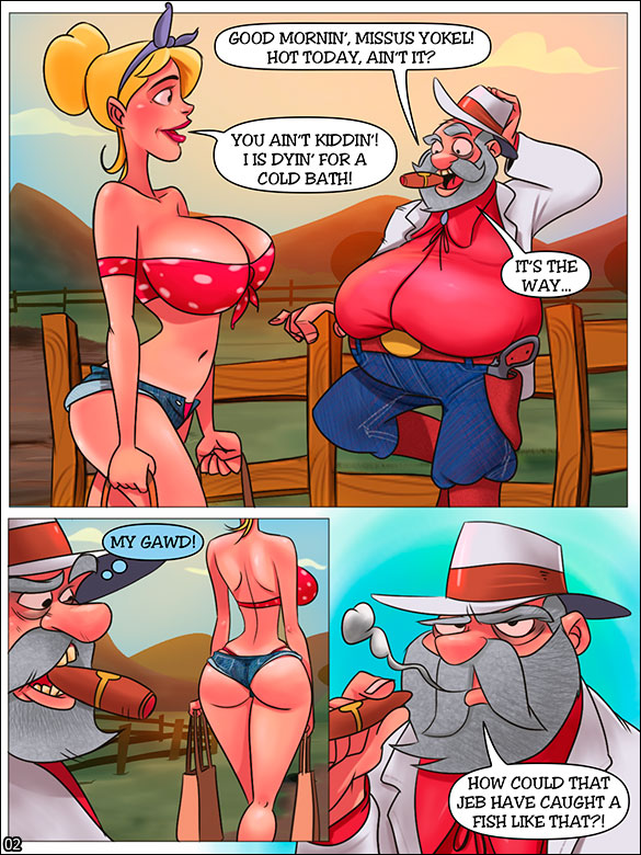 The Hillbilly Farm - Mrs. Yokel's panties - page 2