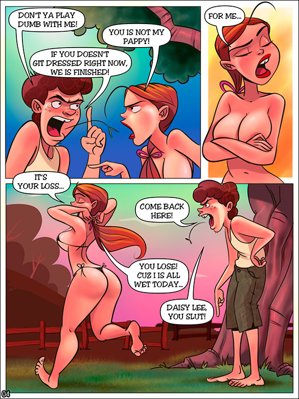 The Hillbilly Farm - A shameless bikini - page 4