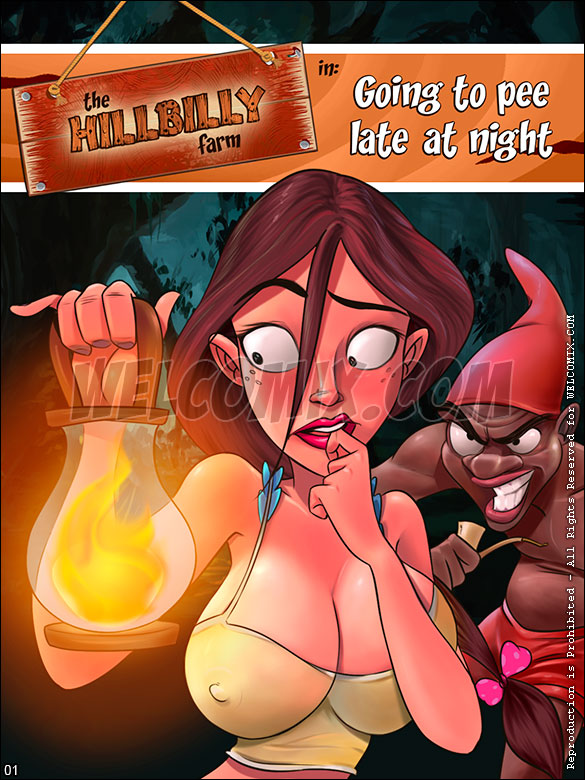 The Hillbilly Farm - Going to pee late at night - page 1