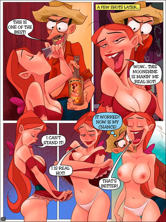 Porn hillbilly cartoon