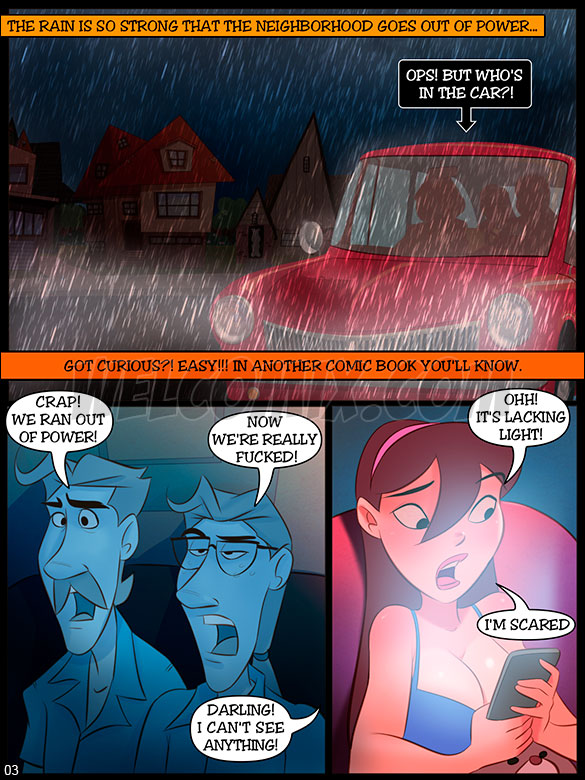 The Naughty Home - Total blackout part 1 - page 3