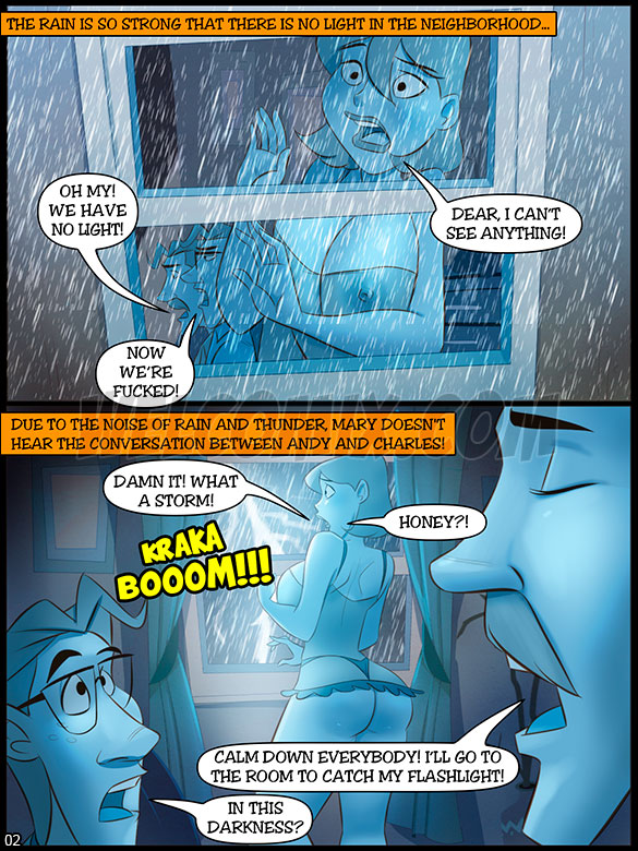 The Naughty Home - Total Blackout Part 2 - page 2