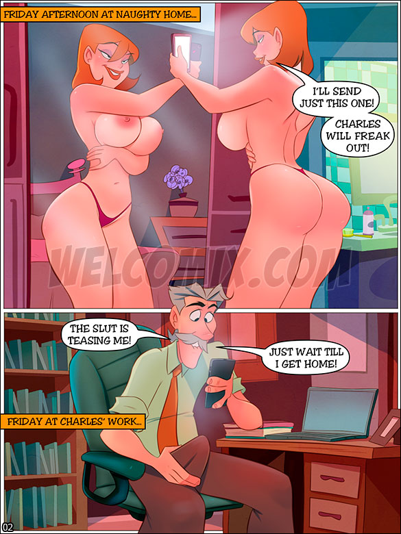 The Naughty Home - Sending nudes - page 2