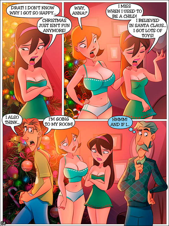 The Naughty Home - Christmas at the Naughty Home - page 4
