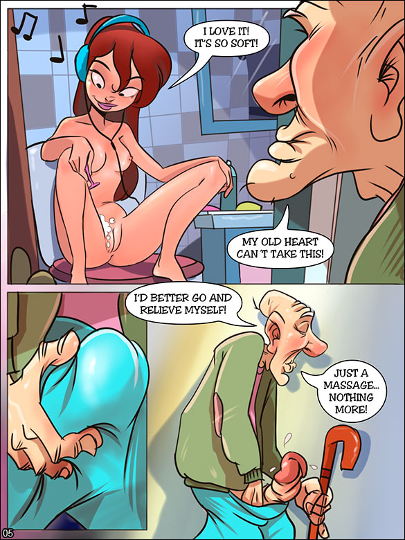 The Naughty Home - Old man knows what's good - page 5