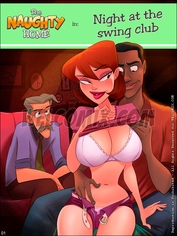 The Naughty Home - Night at the swing club - page 1