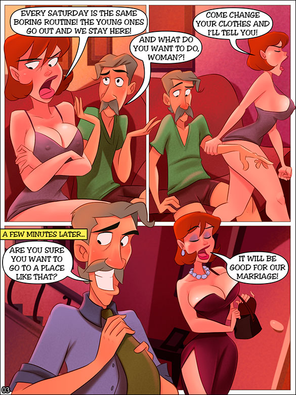 The Naughty Home - Night at the swing club - page 3