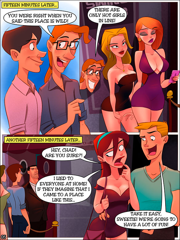 The Naughty Home - Night at the swing club - page 5