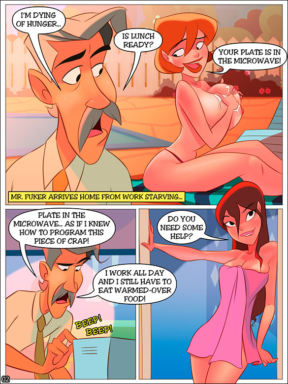 The Naughty Home - Getting a suntan (Part 02) - page 2