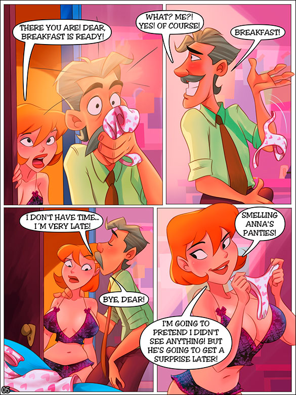 The Naughty Home - The smell of panties - page 5