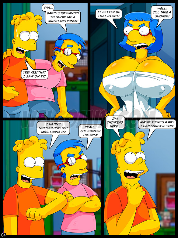 The Simptoons - The collection of porn magazines - page 4