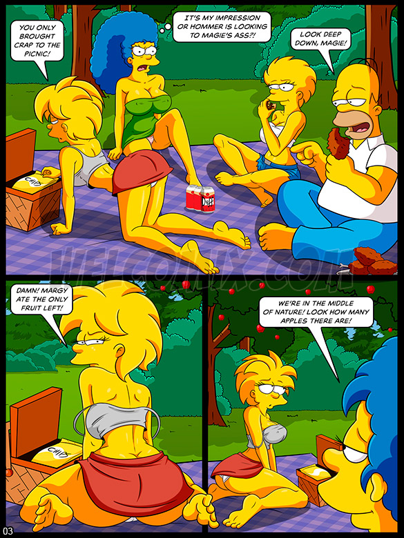 The Simptoons - Forbidden picnic - page 3