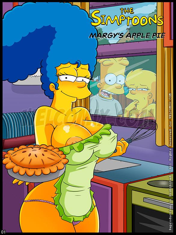 The Simptoons - Margy's apple pie - page 1