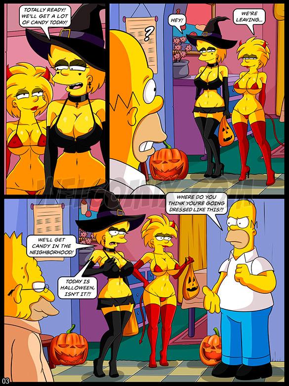 The Simptoons - Halloween night - page 3