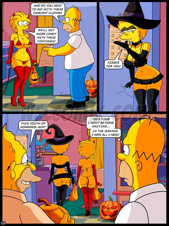 The Simptoons - Halloween night - page 4
