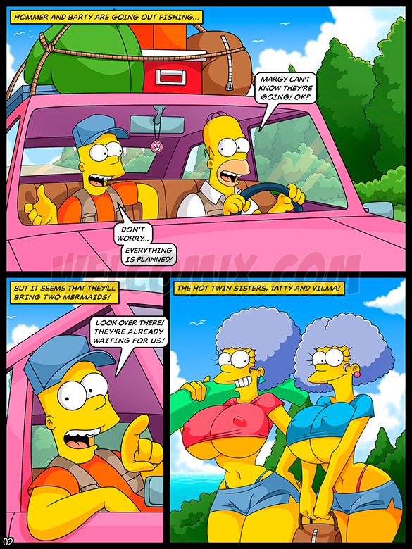 The Simptoons - Orgy on the fishing trip - page 2