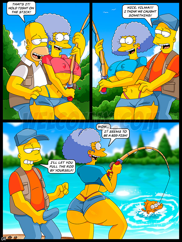 The Simptoons - Orgy on the fishing trip - page 4